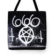 Evil Tote Bag by Margie Hurwich
