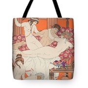 Excess Of Wine And Women Tote Bag by Joseph Kuhn-Regnier