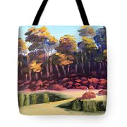 Exploring On Echo Beach Tote Bag by Pamela  Meredith