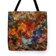 Explosive Chaos Tote Bag by Natalie Holland
