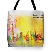 Expo Poster 1 Tote Bag by Corporate Art Task Force