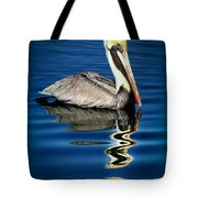 Eye Of Reflection Tote Bag by Karen Wiles