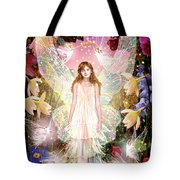 Fairy Crowning Tote Bag by Garry Walton