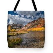 Fall At North Lake Tote Bag by Cat Connor