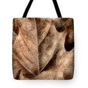 Fallen Leaves I Tote Bag by Tom Mc Nemar