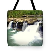 Falling Waters Falls 4 Tote Bag by Marty Koch