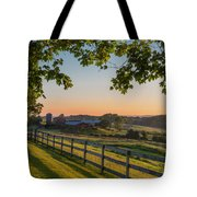 Family Farm Tote Bag by Bill  Wakeley