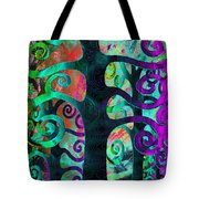Family Struggle 3 Tote Bag by Angelina Vick