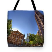 Faneuil Hall Square Tote Bag by Joann Vitali