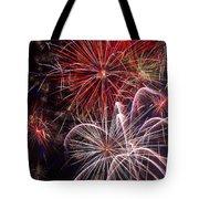 Fantastic Fireworks Tote Bag by Garry Gay