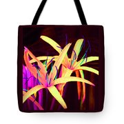 Fantasy Flowers 7 Tote Bag by Margaret Saheed