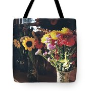 Farm Stand Tote Bag by Caitlyn  Grasso
