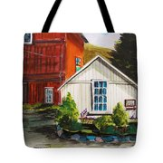 Farm Store Tote Bag by John  Williams
