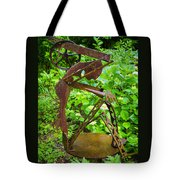 Farm Worker Tote Bag by Carolyn Marshall