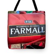 Farmall F-14 Tractor I Tote Bag by Clarence Holmes