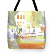 Farmers Market II Tote Bag by Kip DeVore