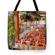 Farmstand Tote Bag by Janice Drew
