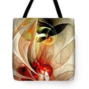 Fascinated Tote Bag by Anastasiya Malakhova