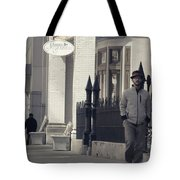Fashion On The Street Tote Bag by Dan Sproul