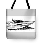 Fast Riva Motoryacht Tote Bag by Jack Pumphrey