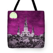 Fat Tuesday Eve Tote Bag by Kathy Bassett