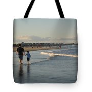 Father And Son Tote Bag by Melissa McCrann