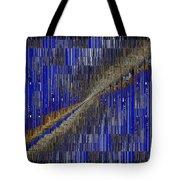 Fault Line Blues Tote Bag by Tim Allen