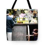 Fear Sells Tote Bag by Kevin J Cooper Artwork