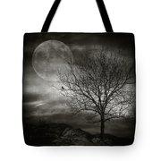 February Tree Tote Bag by Taylan Soyturk