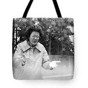 Feeling Rain Tote Bag by Rory Sagner