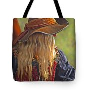 Female Pirate Tote Bag by Tom Gari Gallery-Three-Photography