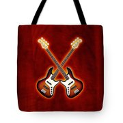 Fender Jazz Bass Lefty Tote Bag by Doron Mafdoos