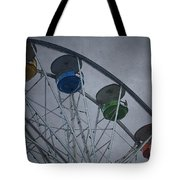 Ferris Wheel Tote Bag by Dave Gordon