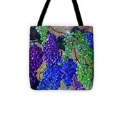 Festival Of Grapes Tote Bag by Eloise Schneider