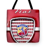 Fiat Emblem 2 Tote Bag by Jill Reger