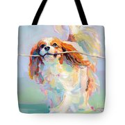 Fiddlesticks Tote Bag by Kimberly Santini