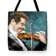 Fiddling Around Tote Bag by Anthony Falbo