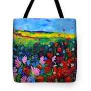 Field Flowers Tote Bag by Pol Ledent