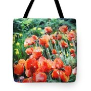 Field Of Flowers Tote Bag by Jeff Kolker