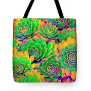 Fiesta Chicks Tote Bag by Ann Johndro-Collins