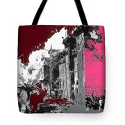 Film Homage D.w. Griffith Intolerance 1916 Fall Of Babylon 1916-2012 Tote Bag by David Lee Guss