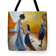 Final Touch Tote Bag by Judy Kay
