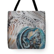 Financial Cliff Tote Bag by PainterArtist FIN