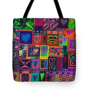 Find U'r Love Found Tote Bag by Kenneth James