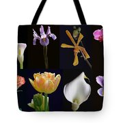 Fine Art Flower Photography Tote Bag by Juergen Roth