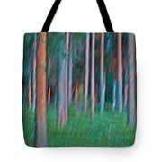 Finland Forest Tote Bag by Heiko Koehrer-Wagner