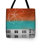 Fire Escapes Tote Bag by Linda Woods