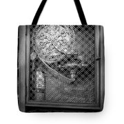 Fire Hose Bw Tote Bag by Susan Candelario