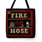 Fire Hose Tote Bag by Cheryl Young