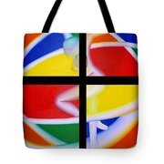 Firedancer Tote Bag by Joshua Morton